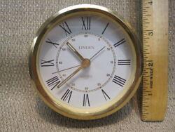 Linden Alarm Quartz Clock Movement
