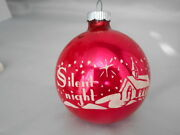 Vintage Stencil Christmas Ornament