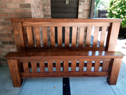 KING SIZE HEADBOARD and FOOTBOARD Mount Mellum Caloundra Area Preview