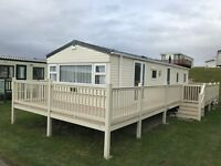 Static Caravan With Decking For Sale in Southerness - Near Dumfries - Cumbria - Newcastle - Glasgow