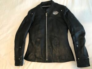 Women's Victory leather motorcycle jacket - size SMALL