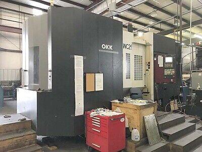 Okk Hm-1000s Cnc Horizontal Machining Center 2012