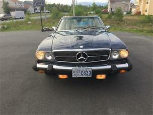 1975 MERCEDES 450SL CONVERTIBLE CAR IN DARTMOUTH
