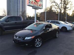 2012 Honda Civic Cpe Si  | One owner | No Accidents | Certified