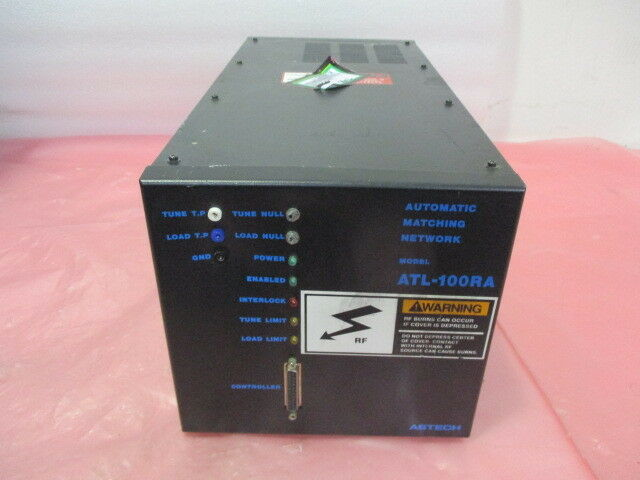 Astech ATL-100RA RF Match, RFPP, 115 VAC, 50/60Hz, 422976