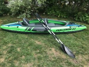 Intex Challenger K2 Kayak, 2-Person Inflatable Kayak (1)