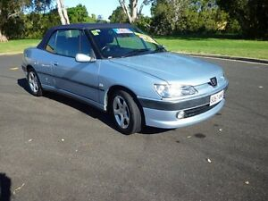 2001 Peugeot 306 N5 MY01 Blue 5 Speed Manual Convertible Ballina Ballina Area Preview