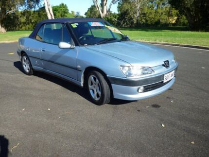 2001 Peugeot 306 N5 MY01 Blue 5 Speed Manual Convertible