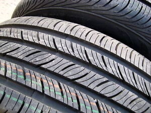 NEW 4 x 215/55R16 Continental all season tires - 100% tread left