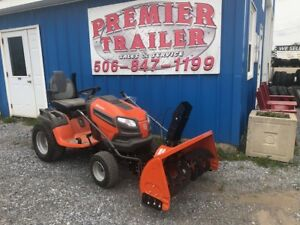 HUSQVARNA TRACTOR AND SNOWBLOWER 36 MONTHS NO INTEREST