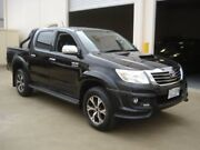 2014 Toyota Hilux KUN26R MY14 SR5 Black (4x4) Black 5 Speed Automatic Dual Cab Pickup Croydon Charles Sturt Area Preview