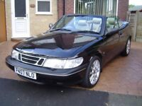 Ideal Enthusiasts Investestment Opportunity 97 Saab 900 Convertible Classic Car in less than 5 yrs