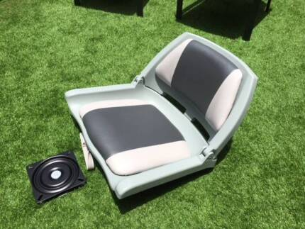 Boat Seats Padded with Swivel Base x 4