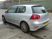 VW GOLF 5 2.0 GT TDI YEAR 2004 LONG MOT FULL HISTORY SERVICE GT STYLE MUST TO SEE