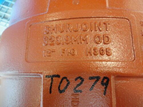 "SHURJOINT H305 12"" Plain End HDPE Pipe Coupling"