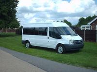 Ford TRANSIT 100 LWB minibus 15 seat direct mod