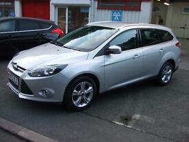 2013 Ford Focus 1.6TDCi 115ps Zetec 5 Door Diesel Estate Car A-Con £30 Tax