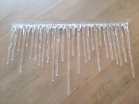 Icicle Decal - CHRISTMAS DECORATION - MUST GO
