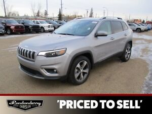2019 Jeep Cherokee LIMITED          8.4 INCH TOUCHSCREEN  HEATED