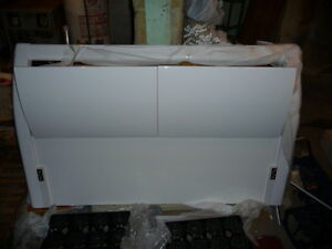 "White Bed Headboard Brand New  Dimensions: W= 170cm or 67"",   D="