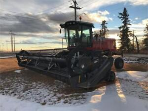 Massey Ferguson WR9740 Swather - Only 370 hours