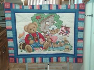 Small Children's Quilts, Hand Stitched London Ontario image 2