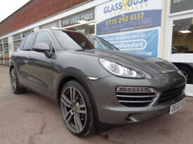 Porsche Cayenne 3.0TDI V6 Tiptronic S F/S/H £10175 extras 2 former keepers P/X
