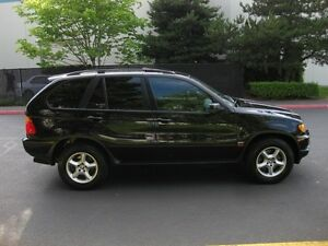 2002 BMW X5 3.0 Black on Black