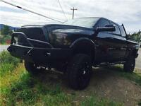2012 RAM 3500 LARAMIE LONGHORN MEGA CAB LIFTED-NAVI-BIG TIRES
