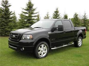 2007 FORD F150 FX4 SUPERCREW* 6'6 BOX* REAR ENTERTAINMENT.