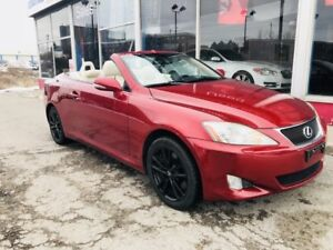 2010 Lexus IS 350C CONVERTIBLE LOW KM! NAVIGATION BACKUP CAM COO
