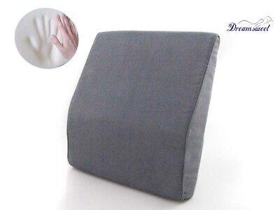 Memory Foam Lumbar Wedge Posture Aid Backpain Comfort For...
