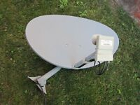 Satellite Dish and Receivers