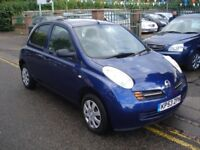 Nissan MICRA 1.2 16v S 5dr, 2003 model, Cheap runabout, drives nice