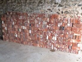 Norfolk Soft Red Bricks - approx 400