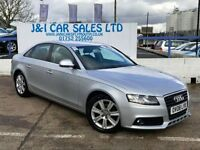 AUDI A4 2.0 TDI SE 4d 141 BHP A LOW PRICE DIESEL WITH FSH (silver) 2008