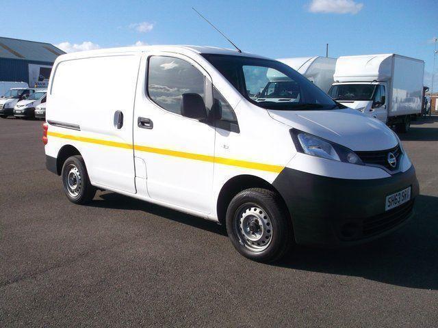 Nissan Nv200 1.5 DCI 89 BHP SE VAN DIESEL MANUAL WHITE (2013)