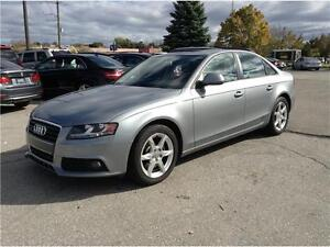 2009 Audi A4 2.0T Quattro|SUNROOF|LEATHER|ONE OWNER|NO ACCIDENTS