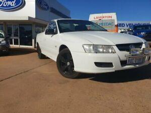 2005 Holden Ute VZ S White 6 Speed Manual Utility