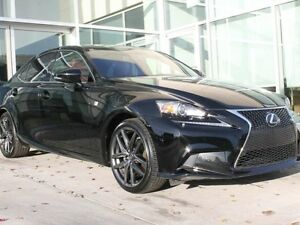 2015 Lexus IS 250 FSPORT/HEATED COOLED FRONT SEATS/AWD/PADDLE SH