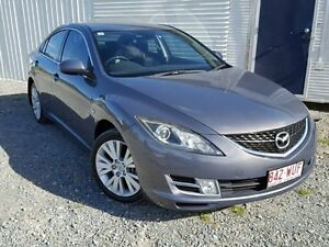 2009 Mazda 6 GH Classic Grey 6 Speed Manual Sedan Gaven Gold Coast City Preview
