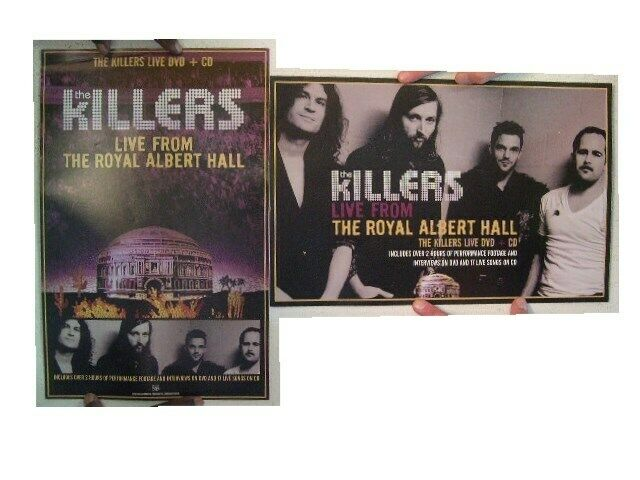 The Killers Poster  Live From The Royal Albert Hall  Two Sided