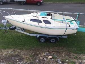 6m DANCER Trailer Yacht Yowie Bay Sutherland Area Preview