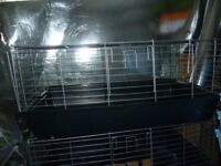 3 x GUINEA PIG/SMALL RABBIT indoor cages