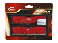 Team Vulcan 16GB (2 x 8GB) SDRAM DDR3 1600 (PC3 12800)