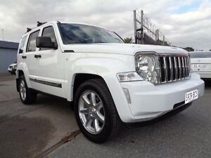 2011 Jeep Cherokee KK Limited (4x4) White 4 Speed Automatic Wagon Pooraka Salisbury Area Preview