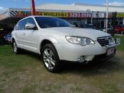 2009 Subaru Outback B4A MY09 Premium Pack D/Range AWD White 5 Speed Manual Wagon Clontarf Redcliffe Area Preview
