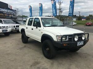 2001 Toyota Hilux KZN165R (4x4) 5 Speed Manual 4x4 Dual Cab Pick-up Lilydale Yarra Ranges Preview