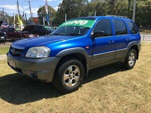 2003 Mazda Tribute Classic Blue 4 Speed Automatic 4x4 Wagon Clontarf Redcliffe Area Preview