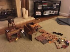 Playmobil Fort. Includes